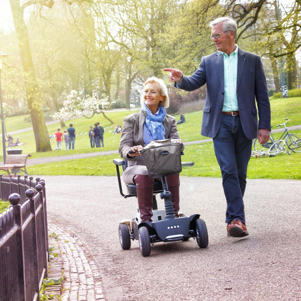 Vivo – vouwbare scootmobiel – Life Mobility