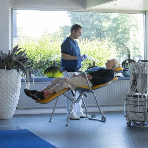 ergoTOS mobiele patientenstoel